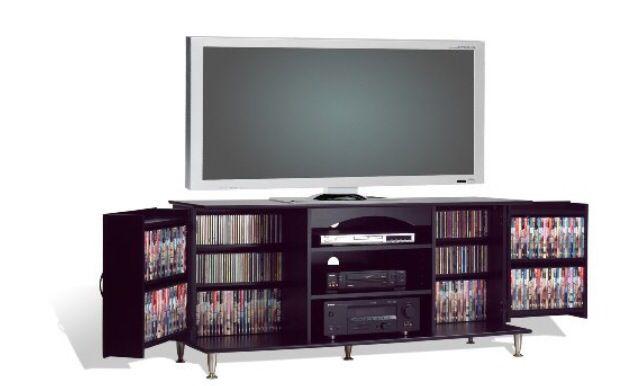 Enterteinimento cuarto- television set con pelicula, video games, y de juegos consola*