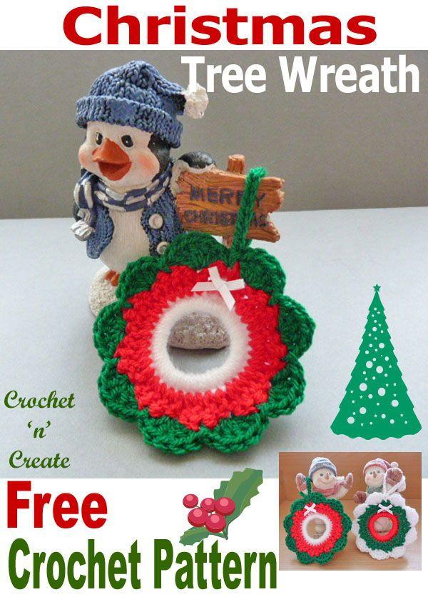 41++ Free crochet pattern for christmas wreath ornament ideas in 2021
