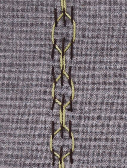 Two Color Embroidery Tutorial
