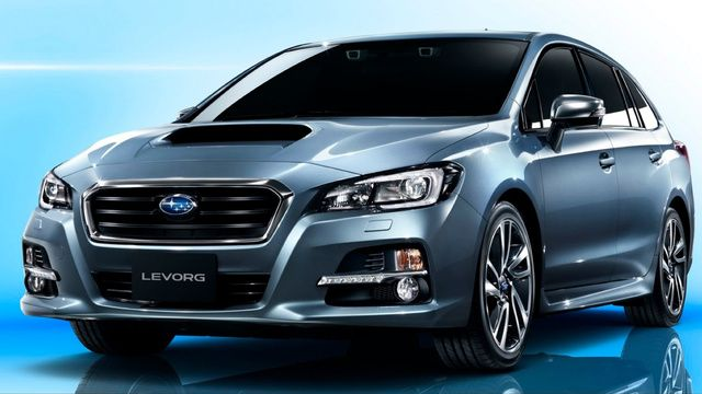 The Subaru Levorg wagon concept
