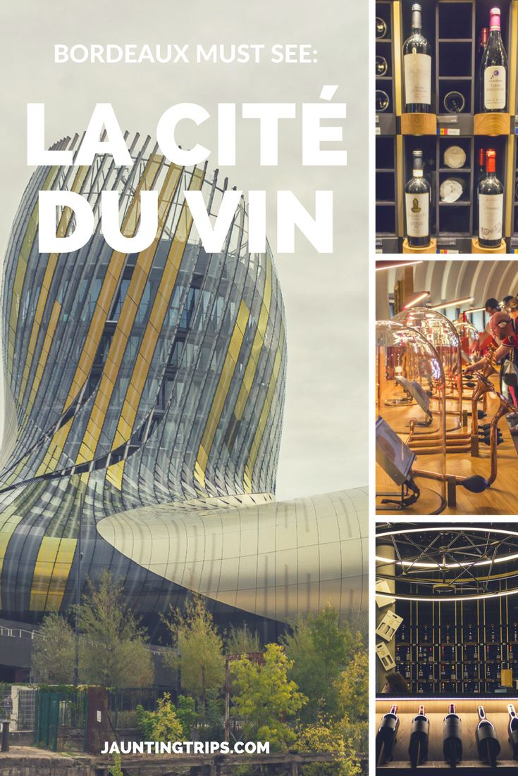 The perfect set-up: a wine lover, in the world capital of wine, visiting a museum dedicated to wine. One of Bordeaux must see locations: La Cité du Vin.