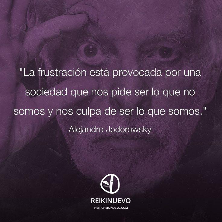 Alejandro Jodorowsky: La frustración http://reikinuevo.com/alejandro-jodorowsky-la-frustracion/