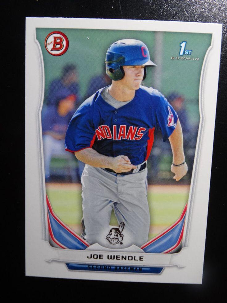 2014 Bowman #BP110 Joe Wendle Cleveland Indians Baseball Rookie Card #Bowman #ClevelandIndians