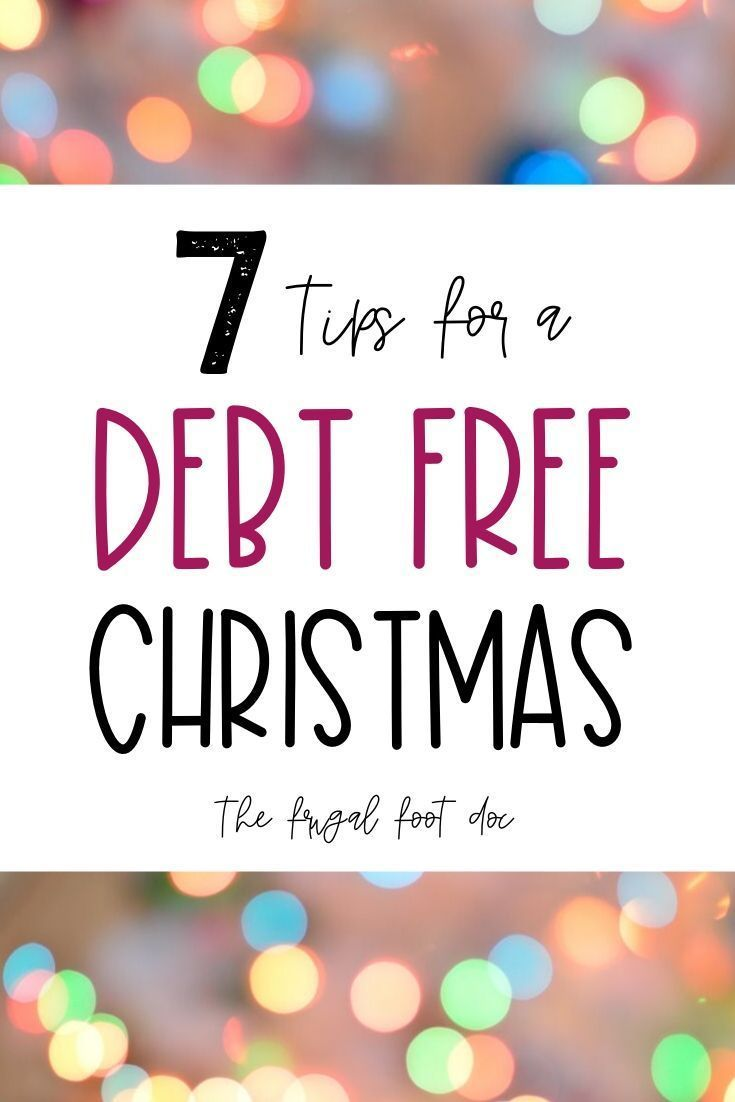How to Have a Debt Free Christmas