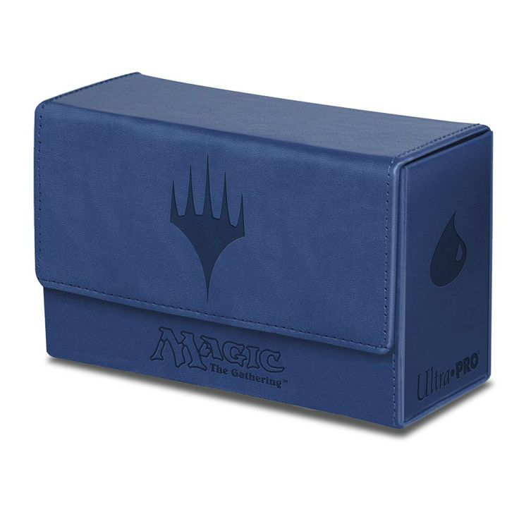 Ultra Pro MTG Mana Dual Flip Box Blue Matte Finish