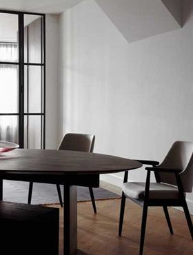 bruut. design irregular table | solid wood | dimensions and finish at customers wish | made by furniture maker Nieuwkoop International.