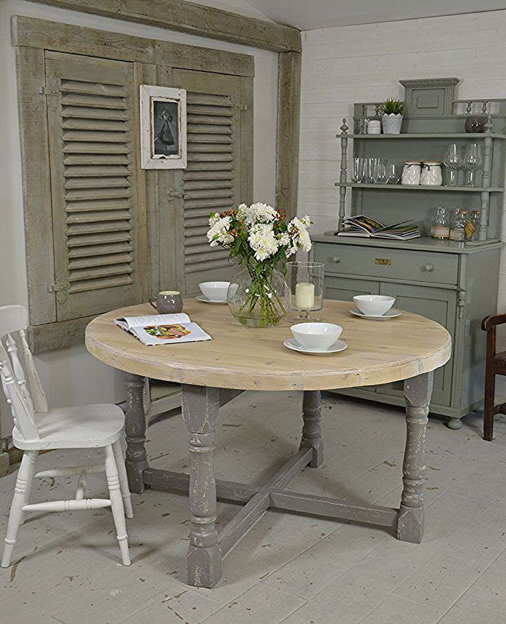 This Large Farmhouse Table Comes In 2 Parts With The Table Top Lifting Off  The Legs
