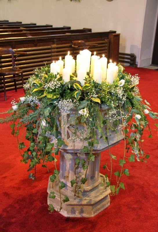 Flower Design Events: Church Christ Church Fulwood