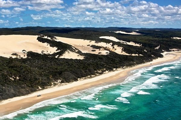 #Fraser Island, situated along the southern coast of #Queensland, #Australia, is considered to be the largest sand island in the world. Find more: http://impressivemagazine.com/2013/10/02/fraser-island-the-largest-sand-island-in-the-world/