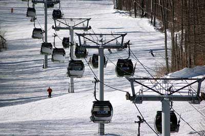 Alpine Skiing & Downhill Ski Resorts In The Adirondacks Of New York State - Skiing On Gore Mountain, Whiteface Mountain & Other Adirondack Mountains