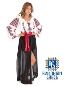$151.22 Long-sleeved Traditional Romanian Blouse RL0004 100% hand made  http://www.romanianlabel.ro/en/ii-cu-maneca-lunga/ie-traditionala-romaneasca-cu-maneca-lunga-RL0004