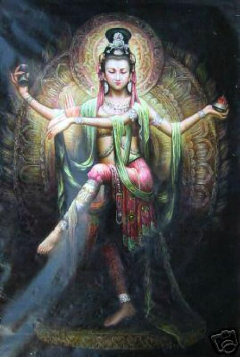 Lakshmi, Hindu Goddess of Wealth Abundance