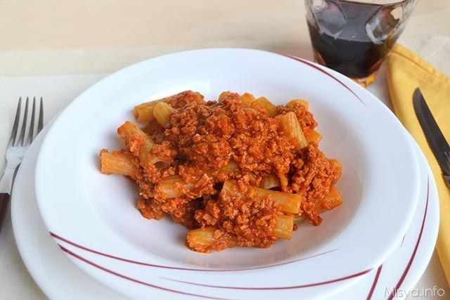 » Ragù di soia Ricette di Misya - Ricetta Ragù di soia di Misya
