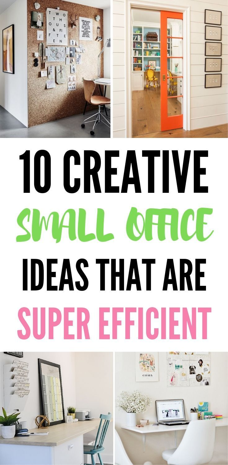 Small Office Design Ideas 10 Ways To Make An Office Efficient Small Office Organization Small Office Design Small Space Office