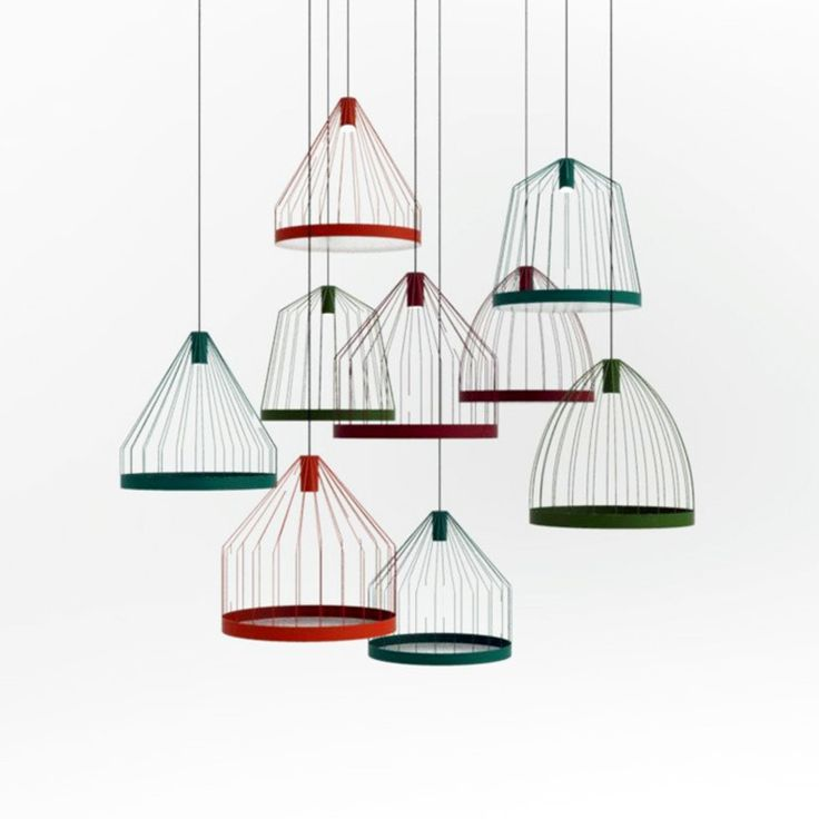 Birdcage Like Lamps And Sculptural Side Tables Blur The Boundaries Of Shape  And Form In