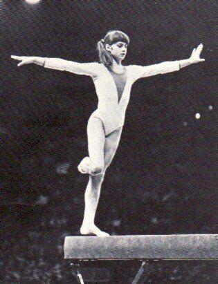 Nadia Comaneci,old school gymnastics