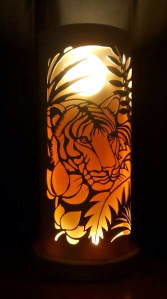 Jungle tiger from Tique.lights