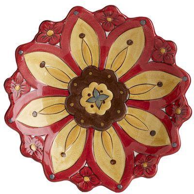 Carynthum 3D Flower Salad Plate