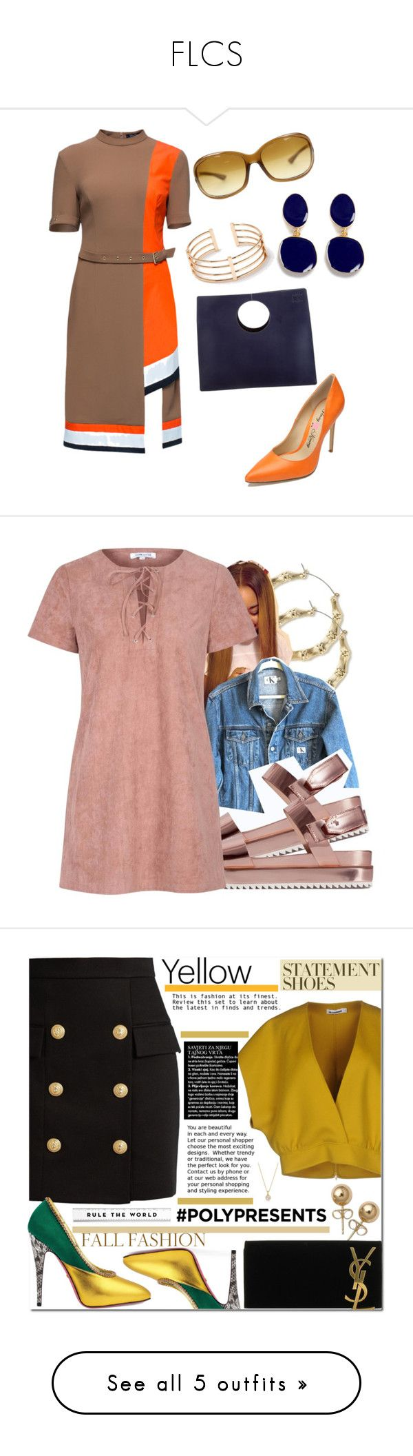 """""""FLCS"""" by toddfrom53rd ❤ liked on Polyvore featuring Lattori, Loewe, Tom Ford, Penny Loves Kenny, Kenneth Jay Lane, Calvin Klein Jeans, Zara, Glamorous, Balmain and Jil Sander"""