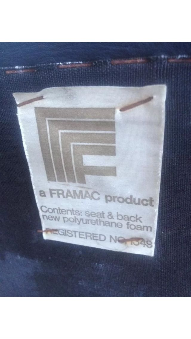 Framac office chair label