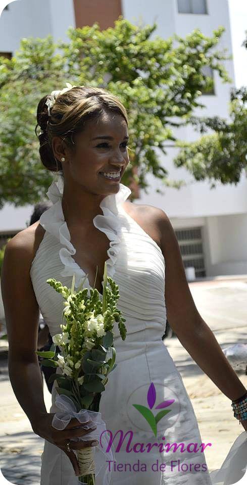 Bride Bouquet #GreenWedding / Bouquet de Novia #BodasVerdes