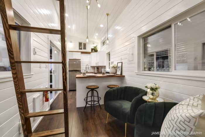 34ft Custom Loft Edition Tiny House For Sale In Vancouver
