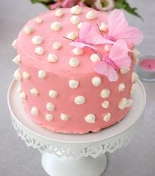 Layer cake framboises et citron vert