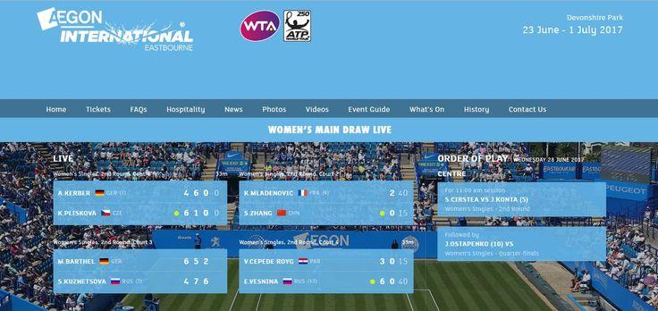 Djokovic+Halep+M.Zverev still in,Mona Barthel out,Kerber still fighting vs the twin of the great CZE Pliskova https://www.lta.org.uk/major-events/Aegon-International-Eastbourne/ … lol😜🤣