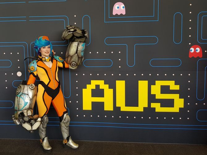 It's cosplay Australia-style at PAX gaming confab      The fifth annual PAX AUS convention in Melbourne, Australia, features more foam, face paint and kickass LED work than you can shake a regulation prop sword at. https://www.cnet.com/pictures/cosplay-pictures-pax-aus-2017/?linkId=44084921&utm_campaign=crowdfire&utm_content=crowdfire&utm_medium=social&utm_source=pinterest