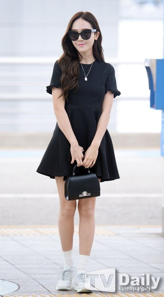 Jessica Jung Airport Fashion Jessica Jung Fashion Kpop Fashion Snsd Airport Fashion