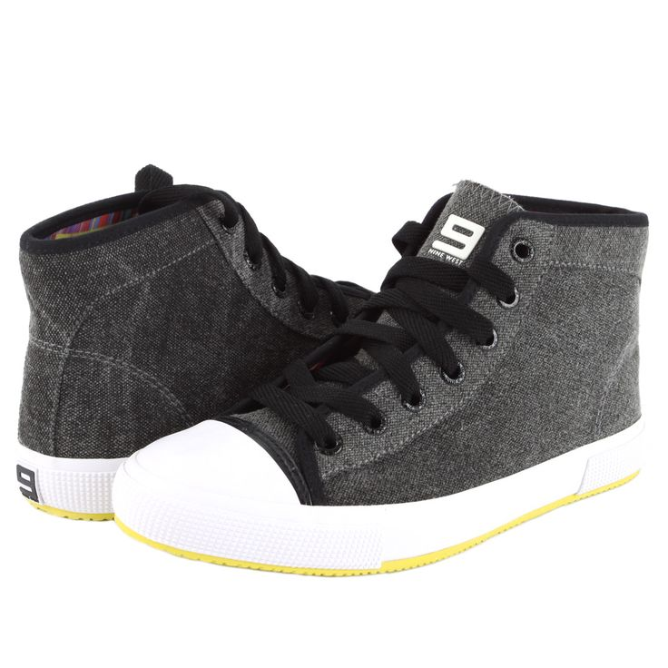Nine West BILLIE Women's Mid Sneaker - Black - My collection from top #designers