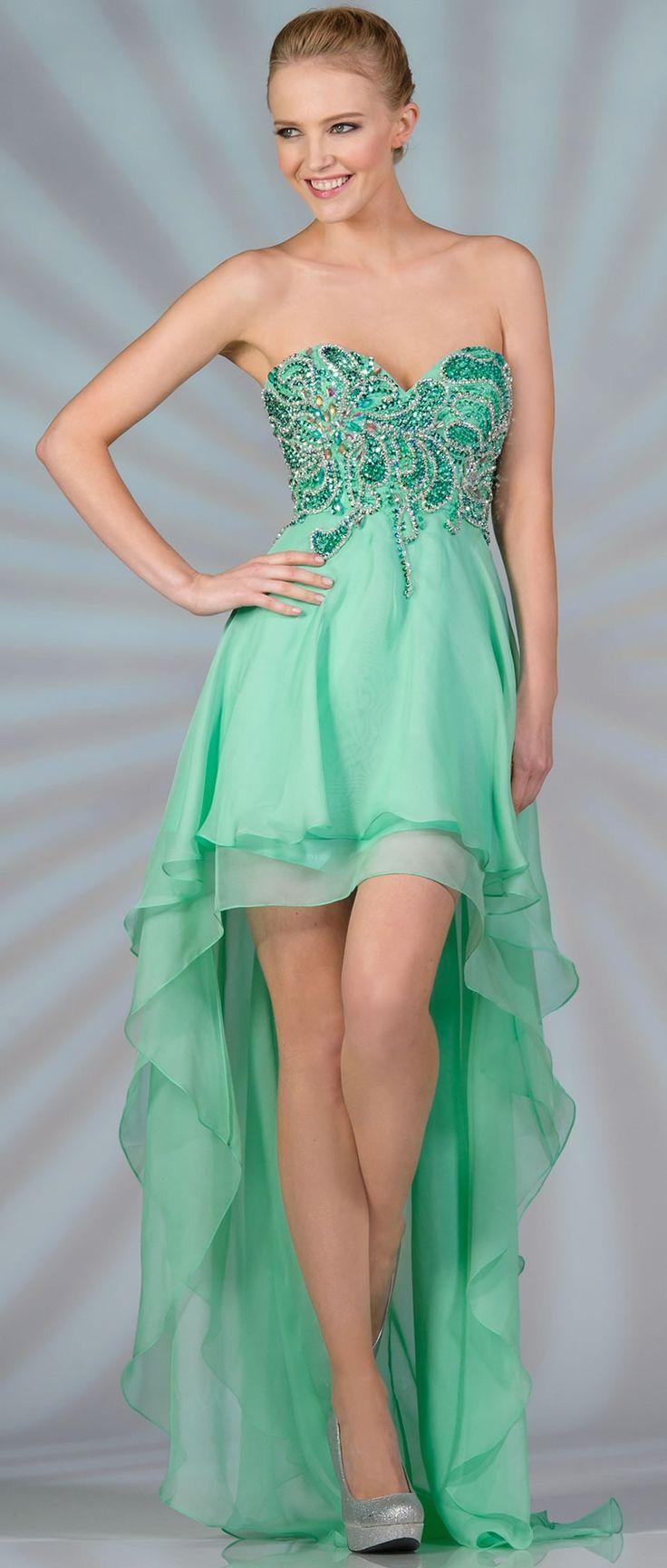 60 best High-Low Dresses images on Pinterest | Ball gowns, Ballroom ...