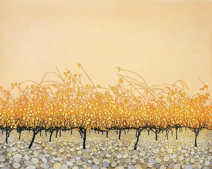 Phil Greenwood (Wales, b 1943) Pudding Stones, 2003. etching