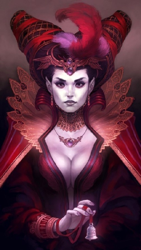 Mulheres de diversas mitologias transformadas em pin-ups!