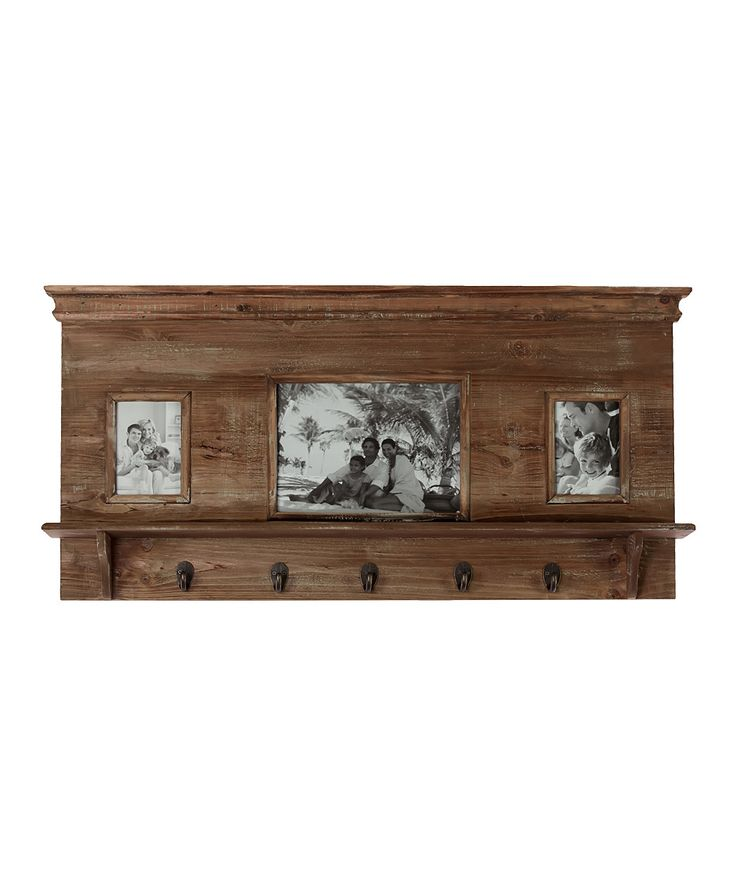Brown Picture Frame Wall Shelf | zulily