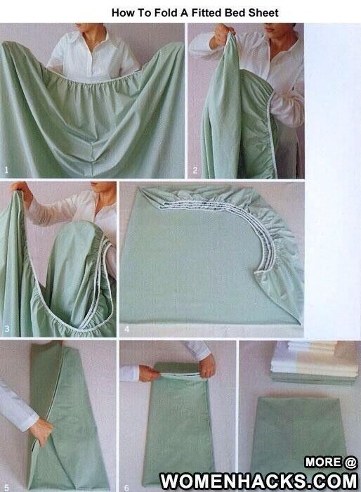 Hot To Fold A Fitted Bed Sheet