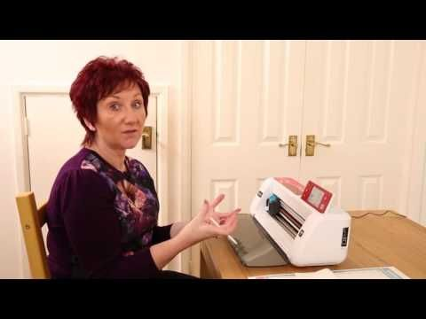 Brother ScanNCut Special Edition - Hints and Tips for Cutting Fabric - YouTube