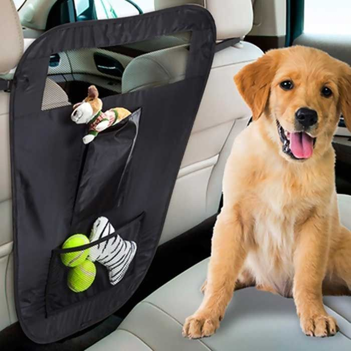 iPets ® Auto Pet Barrier with Pockets and Organizer