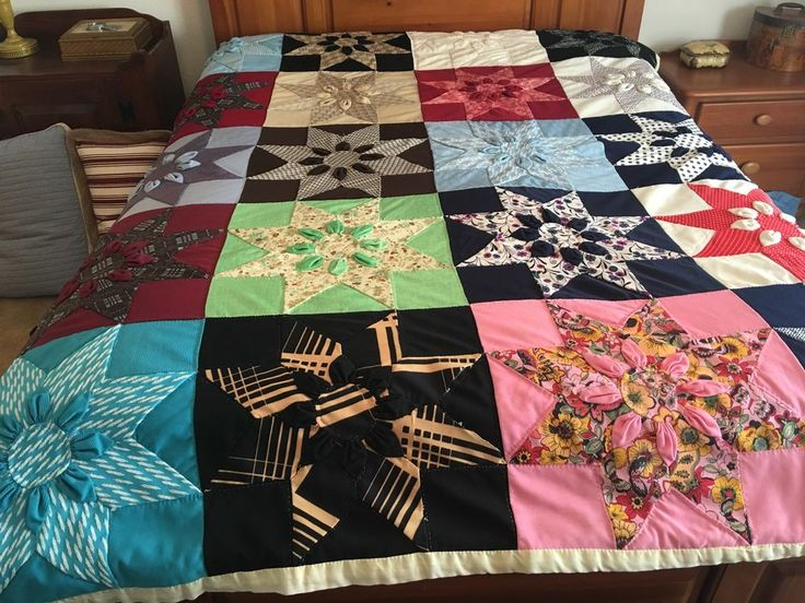72 best Vintage & Antique Handmade Quilts images on Pinterest ... : gathered quilt - Adamdwight.com