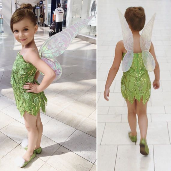 i custom designed and created this entire tinkerbell for my daughter last halloween