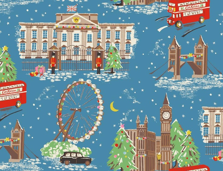 New Cath Kidston Christmas Design. I like this one as it is british and christmas but it is way too cute for my liking. #CKCrackingChristmas