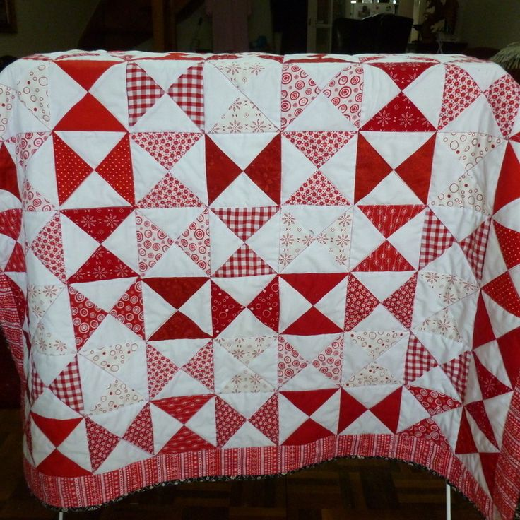80 best Red and White Quilts images on Pinterest | Quilt patterns ... : red and white quilt patterns - Adamdwight.com