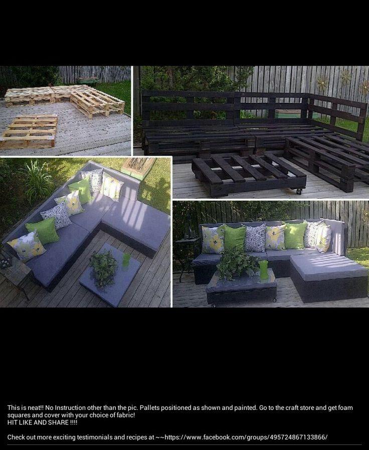 #diy #furniture #deck
