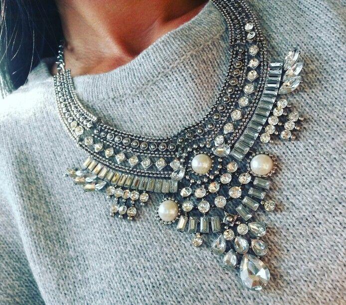 Statement necklace.  Bohemian necklace.  www.ninojewelry.hu