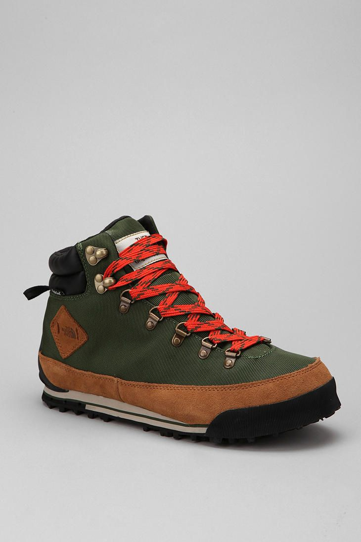 The North Face Back To Berkeley Boot. i would hike if it meant getting these. ps.   The boy version is a better color, as seen above.