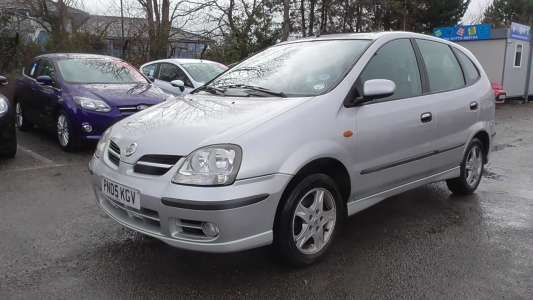 Used 2005 (05 reg) Nissan Almera Tino 1.8 SE 5dr for sale on RAC Cars