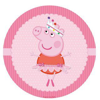 Kit Imprimible GRATIS Peppa Pig Bailarina