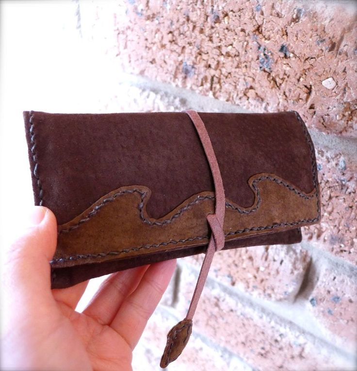 """Thanks for the kind words! ★★★★★ """"Such a beautifully hand made original piece. Love the design and the suede, it is also the perfect size not bulky at all like a lot of other pouch wallets. Next day delivery too! Thank you for your lovely work, will definition come back!"""" mina #etsy #leather #tobacco #pouch #tobaccopouch #tobaccocase #cigarettecase #smoking #rollingtobacco"""
