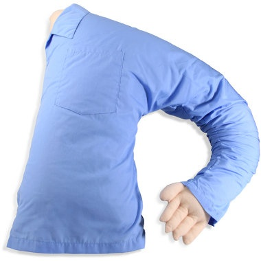 """""""boyfriend"""" pillow... Perfect for lonely girls or those in long distance relationships!"""
