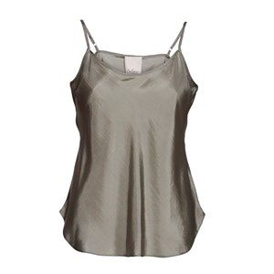 "SUST SILK Elegant camisole, sage.  Exclusive and simple camisole. The camisole has adjustable straps and is super soft. Limited. Made from 100% silk in ""dead stock"", which means that it's made from residues from other collections. Because of that, the camisole is limited."